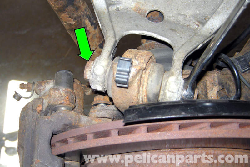 Bmw E46 Rear Upper Ball Joint Replacement Bmw 325i 2001