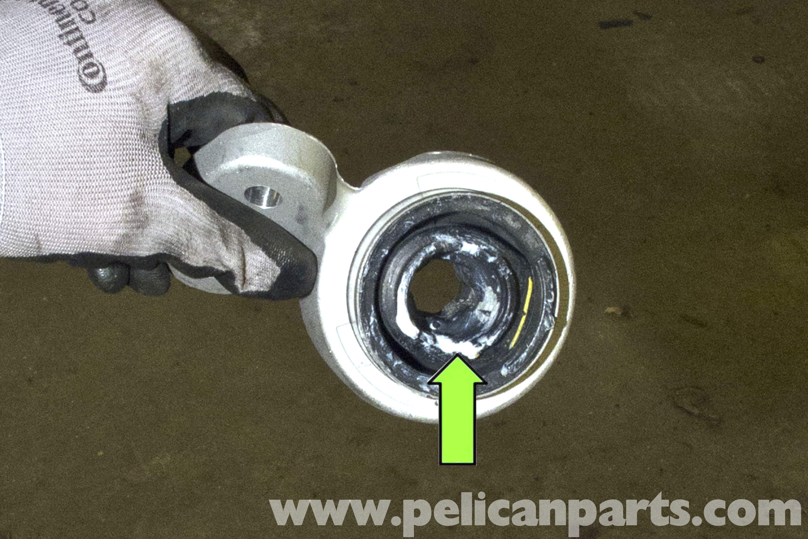 Bmw E46 Front Control Arm Bushing Replacement 325i 2001 2005 Jeep Suspension Diagram Large Image Extra