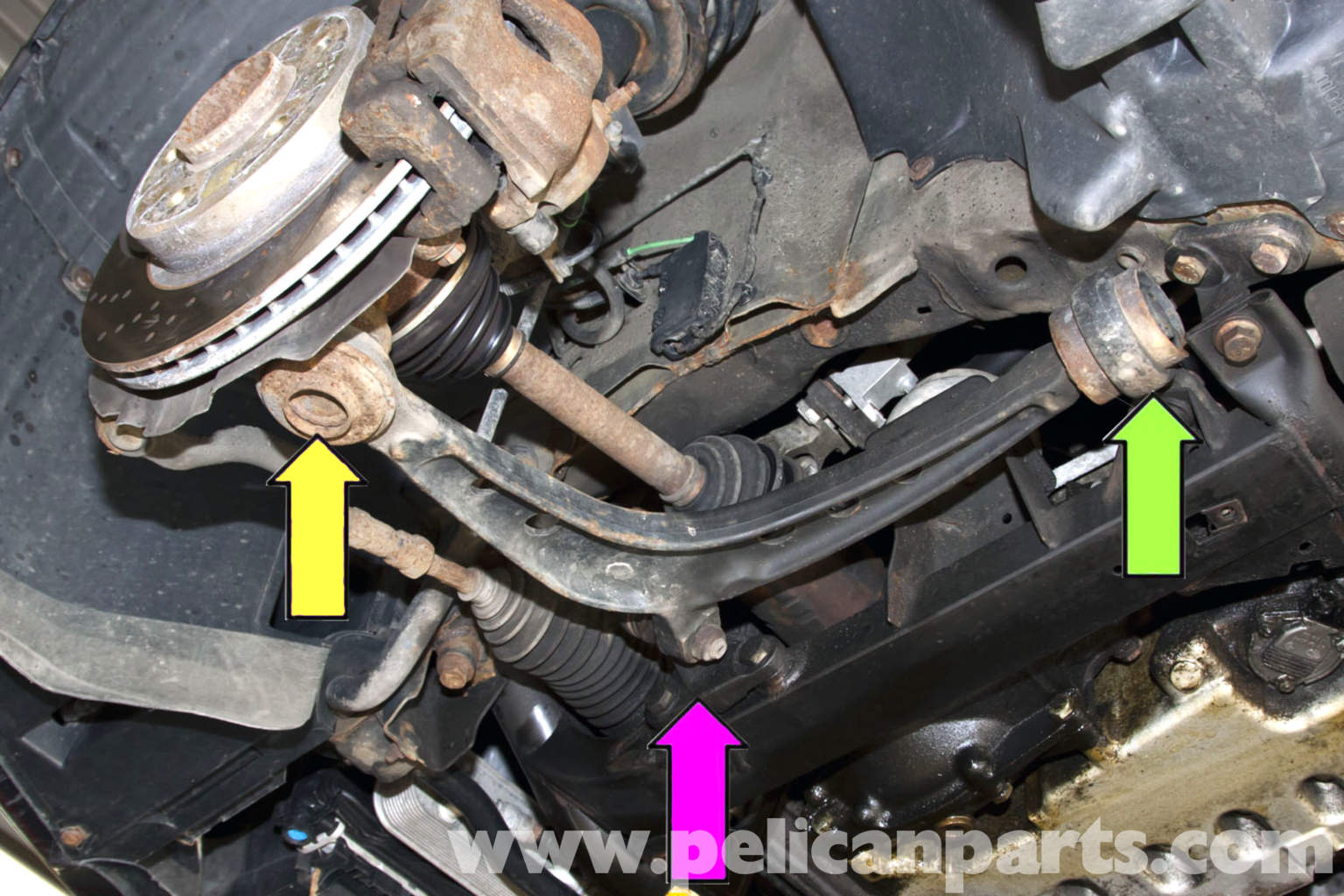 Bmw E46 Front Awd Control Arm Bushing Replacement Bmw