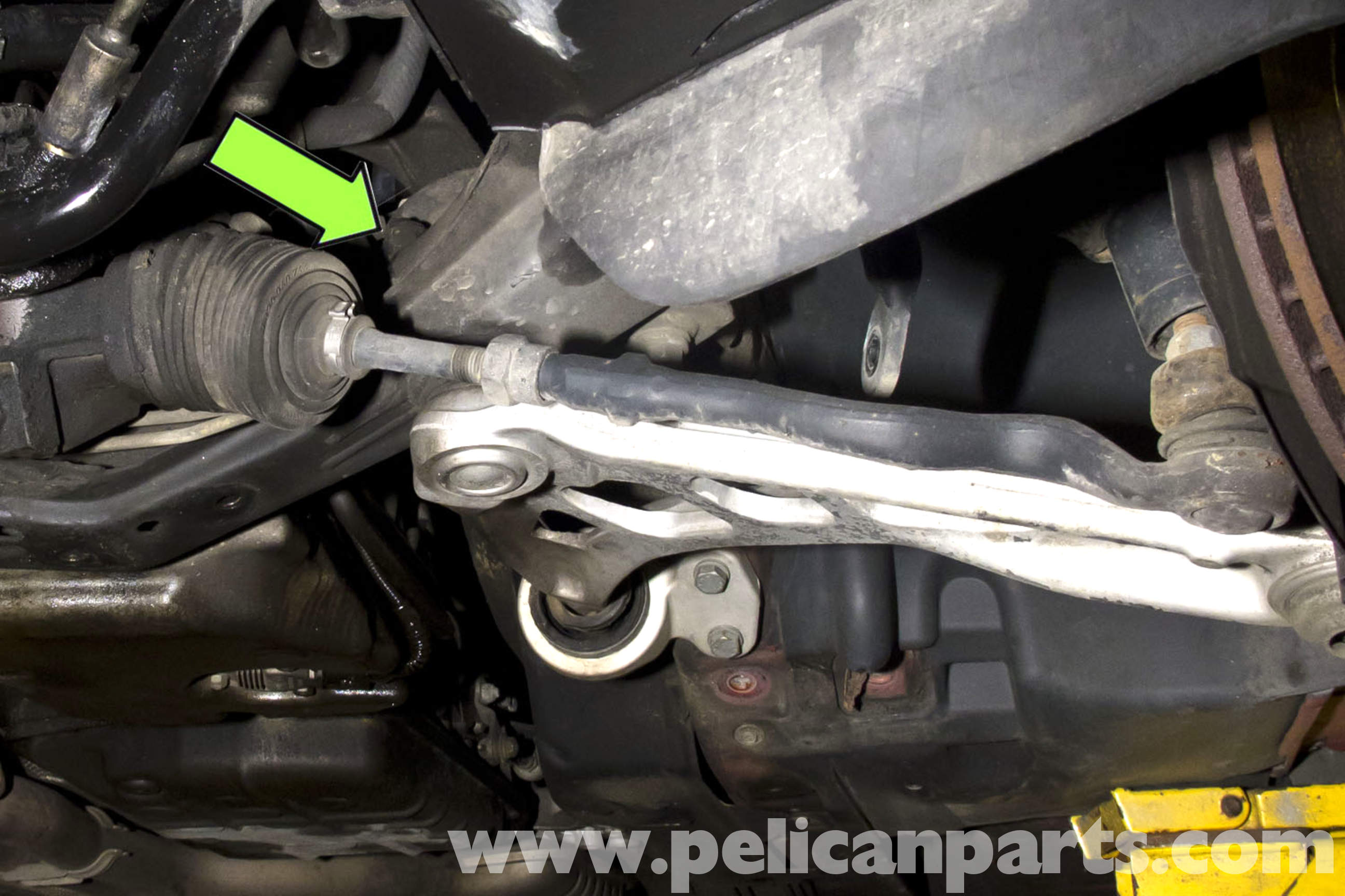 Bmw E46 Front Control Arm Replacement Rwd Bmw 325i 2001