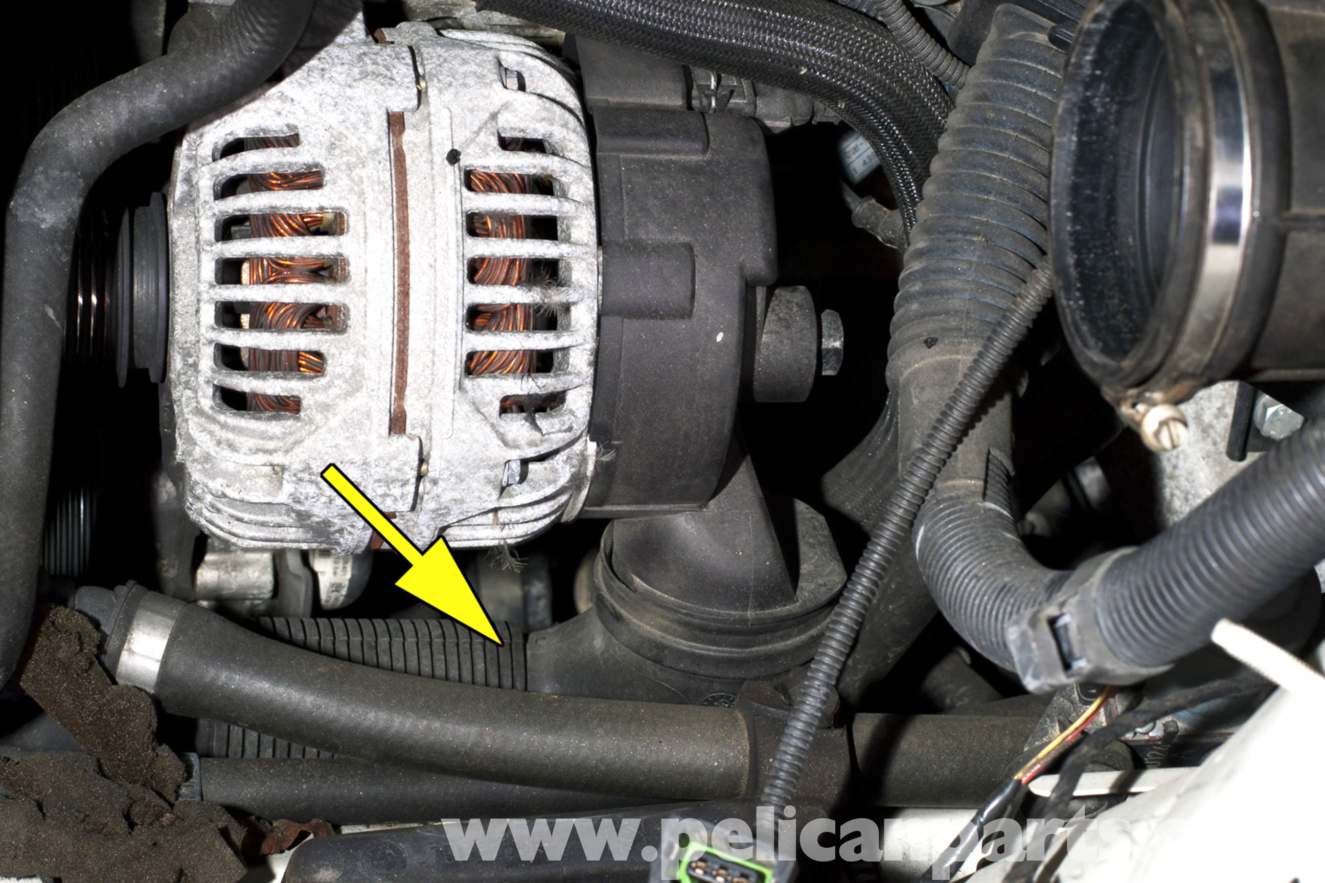 pic08 bmw e46 alternator replacement bmw 325i (2001 2005), bmw 325xi