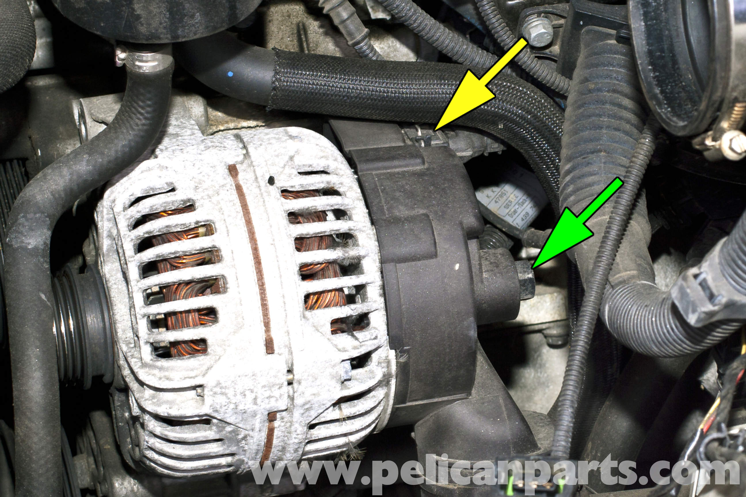 Bmw E36 Alternator Wiring Diagram : Bmw e alternator replacement i
