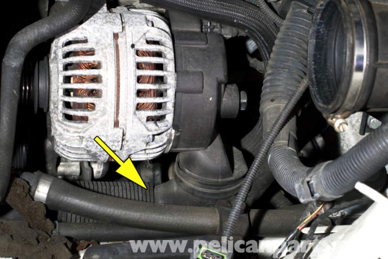 2006 Bmw 325xi >> BMW E46 Alternator Replacement | BMW 325i (2001-2005), BMW 325Xi (2001-2005), BMW 325Ci (2001 ...