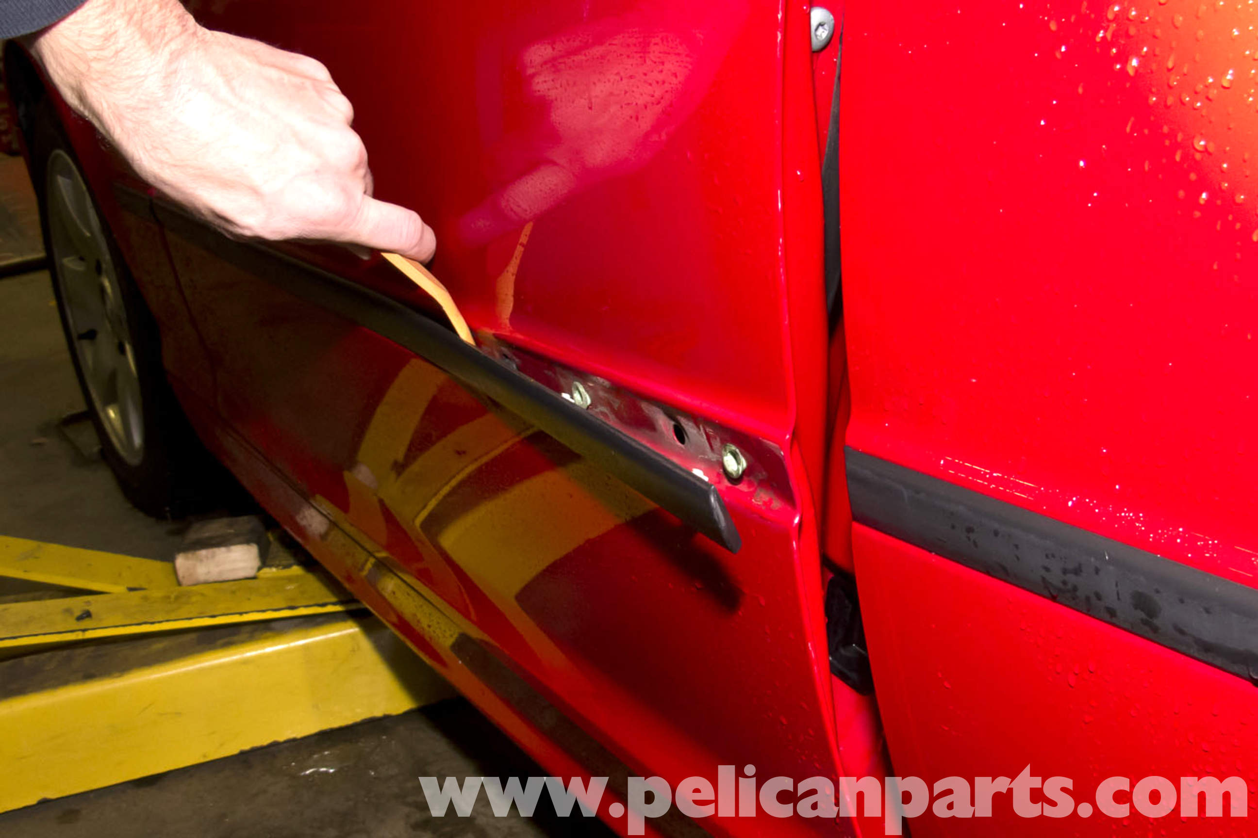 Bmw E46 Body Side Molding Replacement Bmw 325i 2001