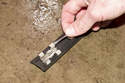 Inspect the molding clips for damage or wear.