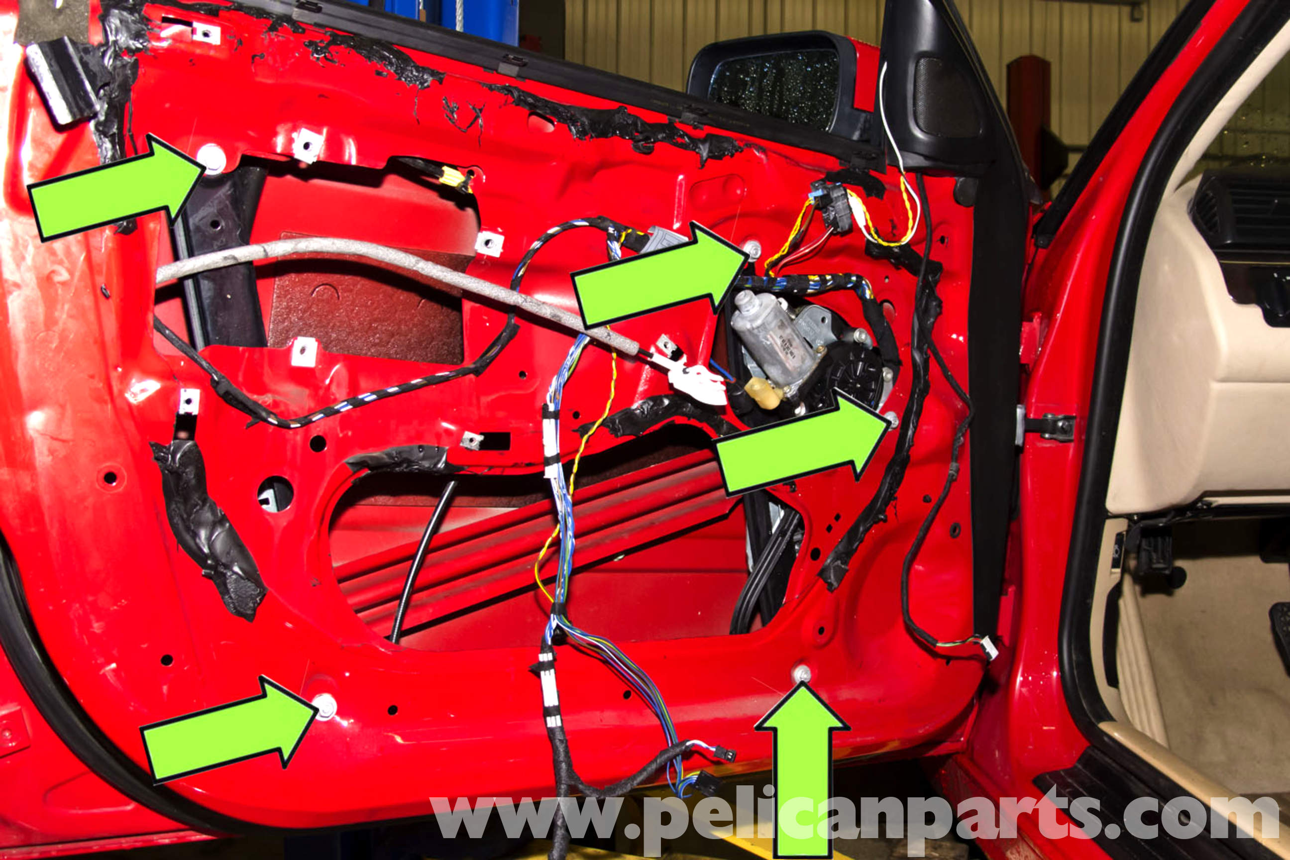 pic11 bmw e46 front window regulator replacement bmw 325i (2001 2005 E46 Wiring Diagram PDF at creativeand.co