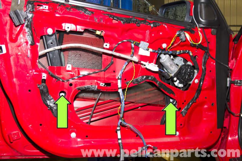 BMW E46 Front Window Regulator Replacement | BMW 325i (2001-2005 ...: bmw door panel wiring diagram 325i at sanghur.org