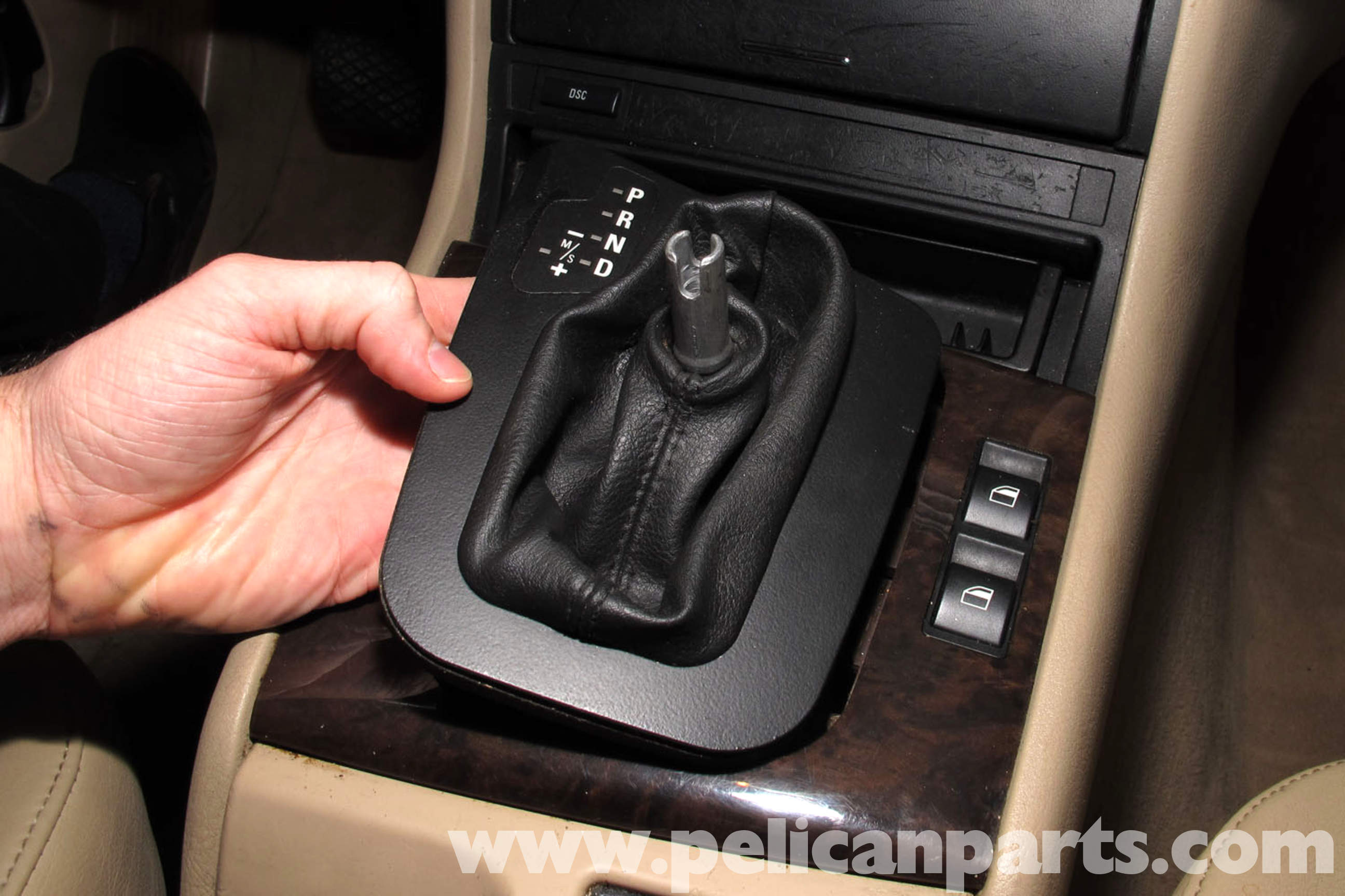 Bmw E46 Gear Shift Boot Replacement 325i 2001 2005 Stick Shifting Gears Illustration Diagram Large Image Extra