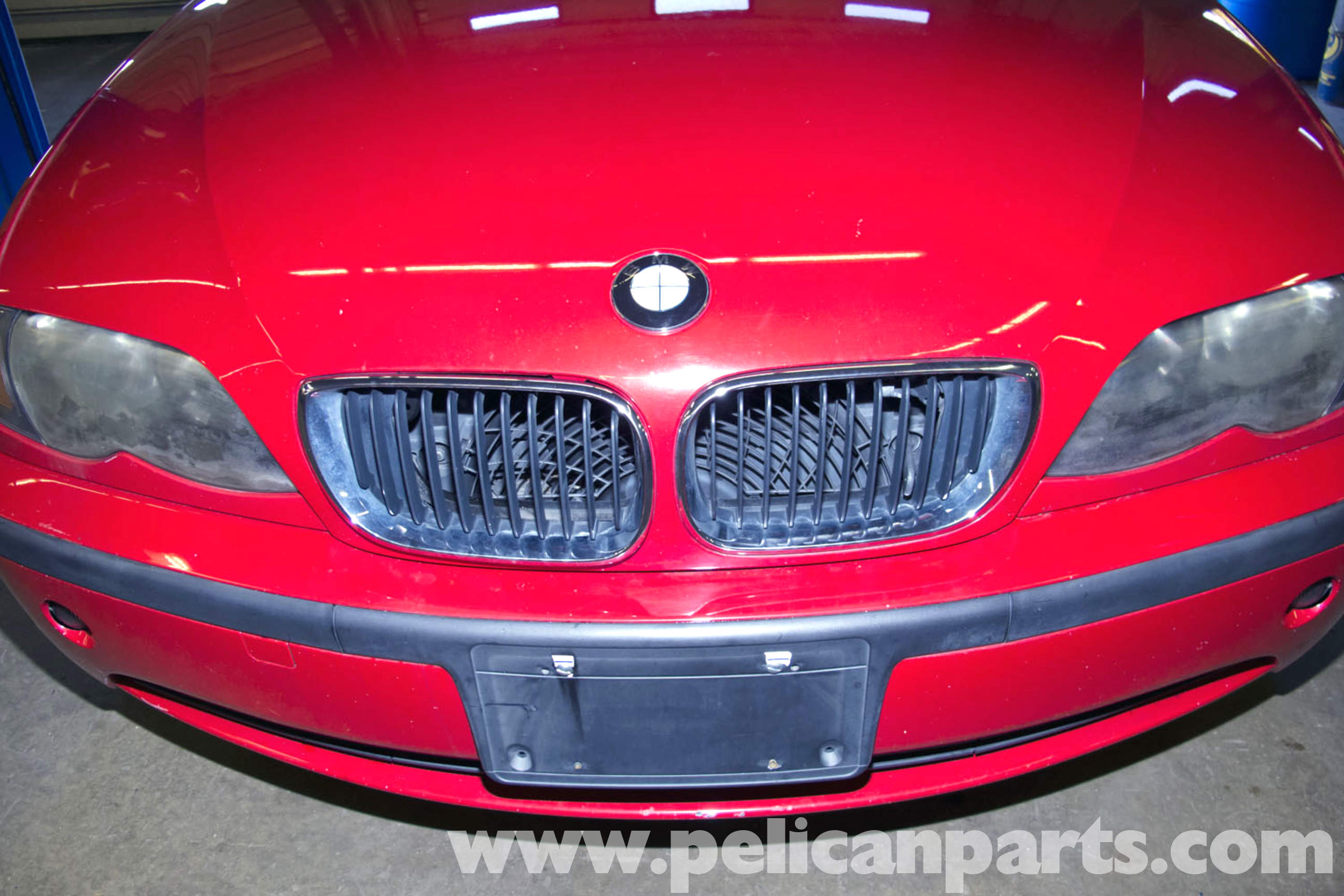 Bmw E46 Hood Grille Replacement Bmw 325i 2001 2005