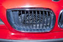 The grille in this photo shows what can happen when the internal grille retaining clips fail.