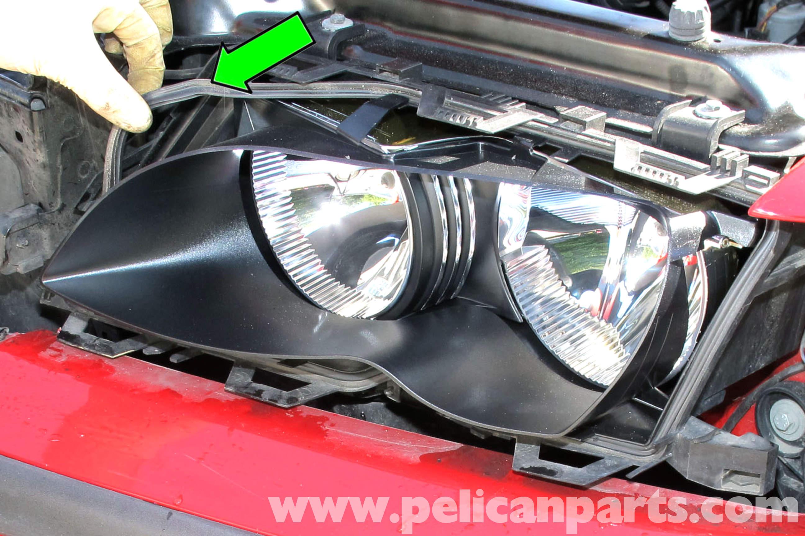 BMW E46 Headlight Lens Replacement | BMW 325i (2001-2005), BMW 325Xi ...