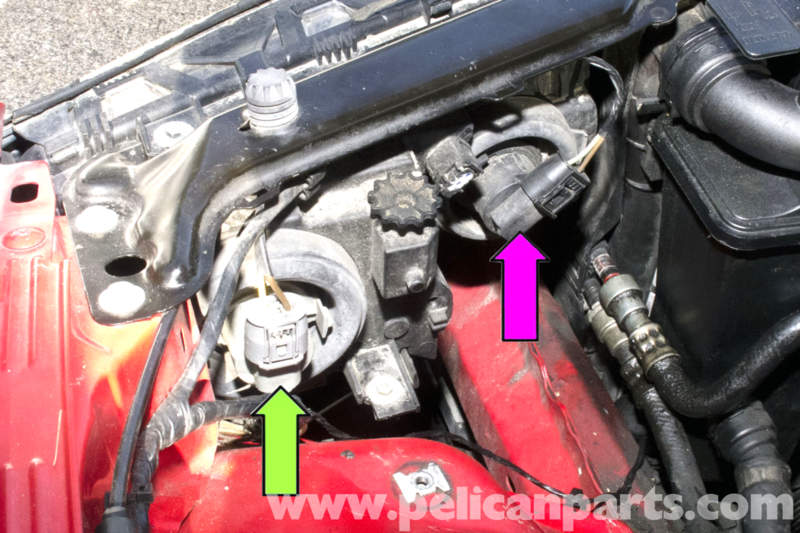 Bmw e46 headlight diagram search for wiring diagrams bmw e46 headlight removal bmw 325i 2001 2005 bmw 325xi 2001 rh pelicanparts com bmw e46 m3 headlight wiring diagram bmw e46 angel eyes headlights asfbconference2016 Gallery