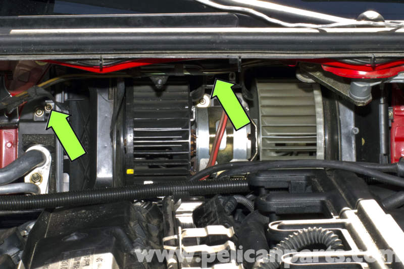 bmw  blower motor replacement bmw