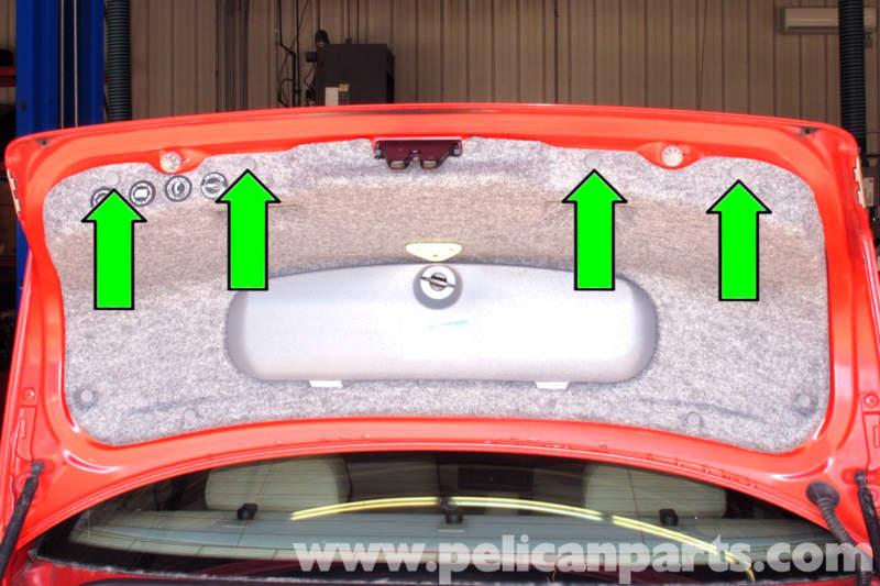 bmw e46 trunk release button replacement bmw 325i 2001 2005 bmw rh pelicanparts com