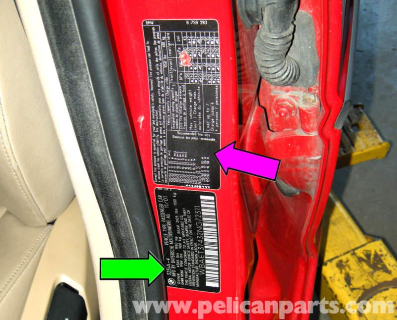 Bmw E46 Vehicle Option Identification Bmw 325i 2001