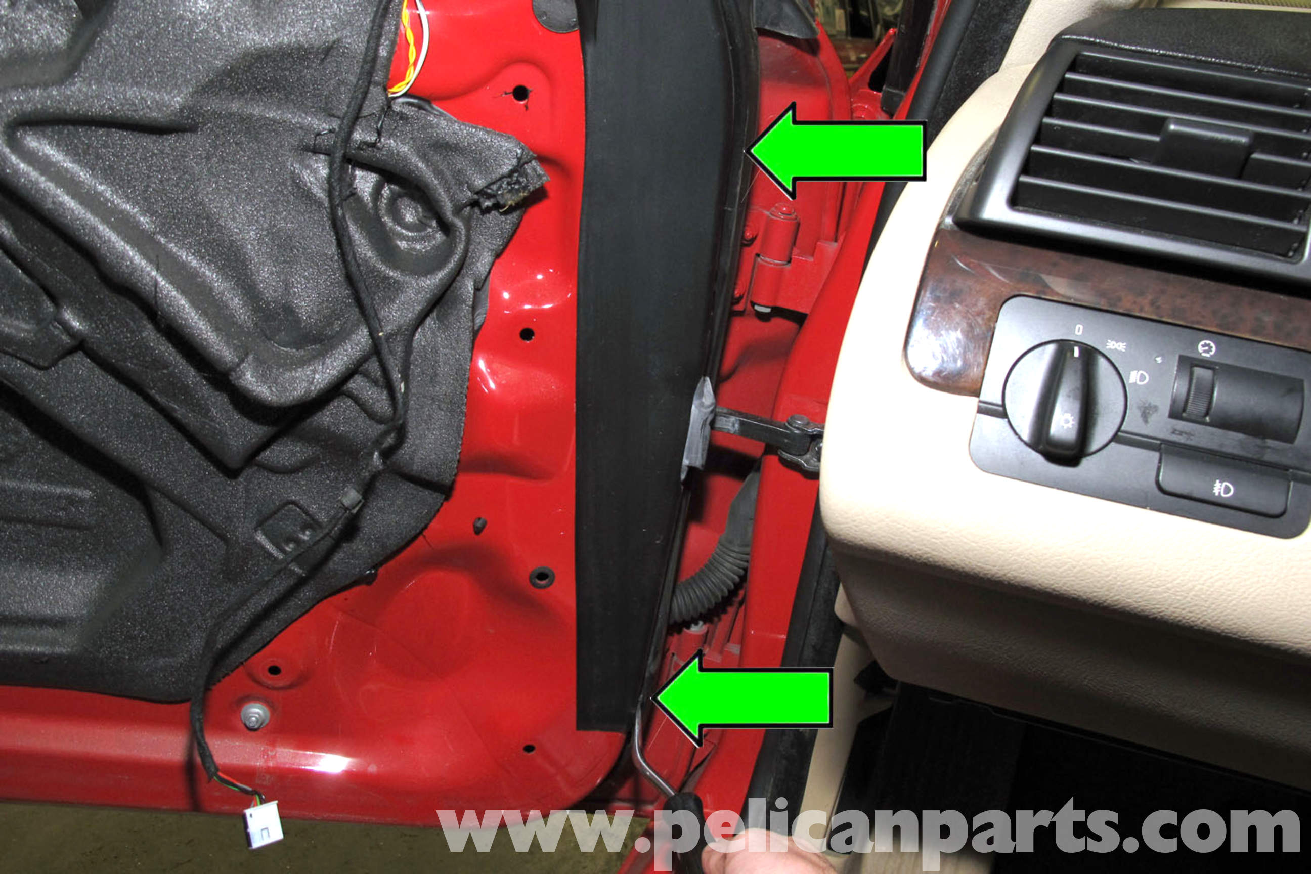 Bmw E46 Door Seal Replacement Bmw 325i 2001 2005 Bmw