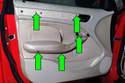 Then, remove five T20 Torx fasteners.
