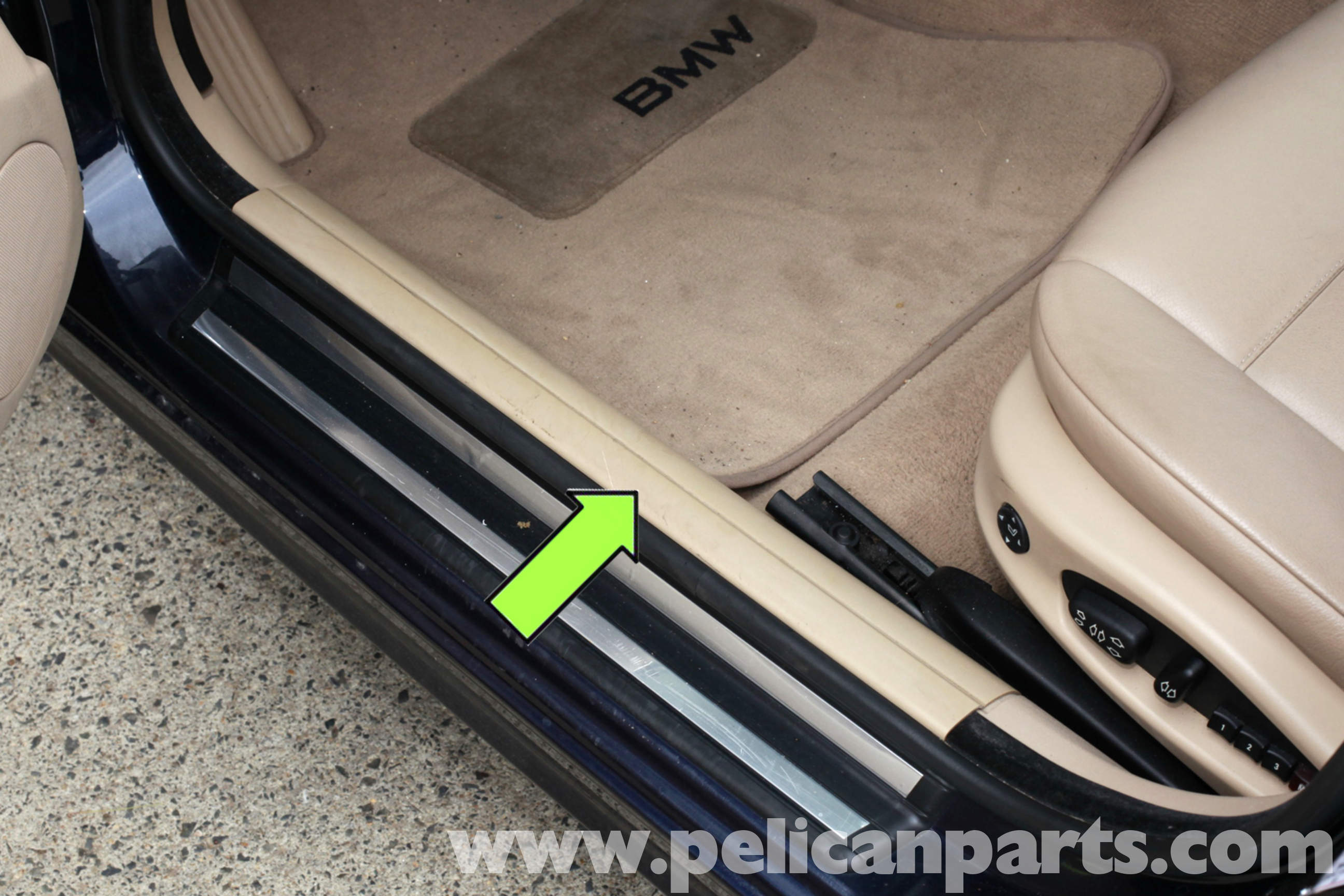 Bmw E46 B Pillar Trim And Entrance Strip Replacement Bmw