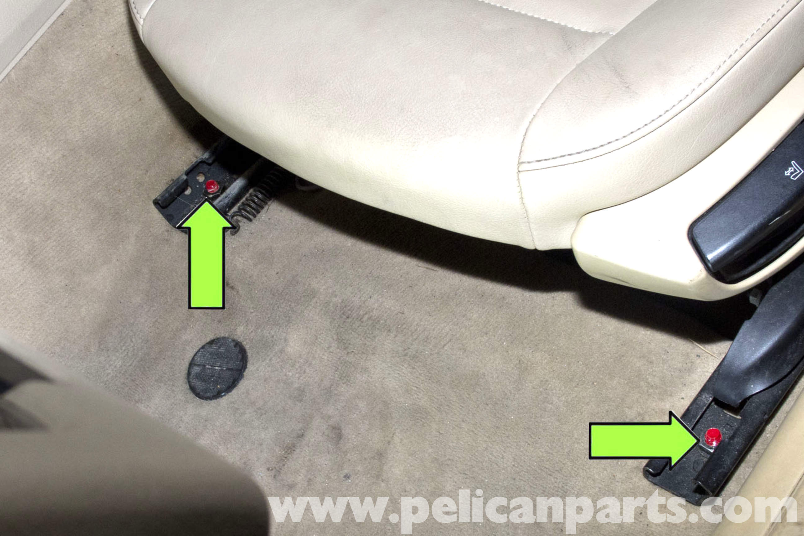 Bmw Seats Replacement : Bmw e front seat belt buckle replacement i