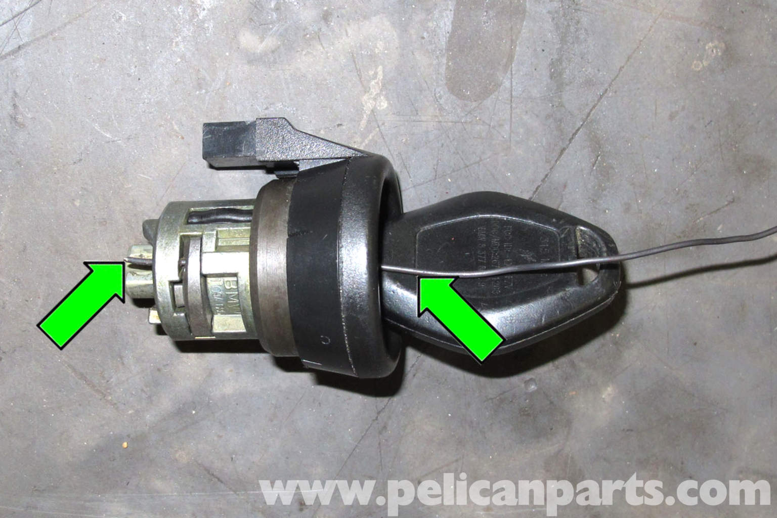 bmw e46 ignition lock cylinder replacement