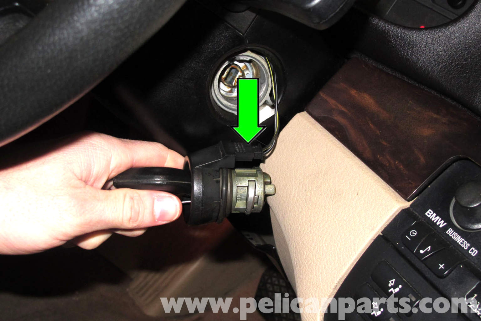 Pic on Key Ignition Lock Cylinder