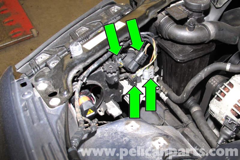 Bmw E46 Xenon Headlight Replacement Bmw 325i 2001 2005