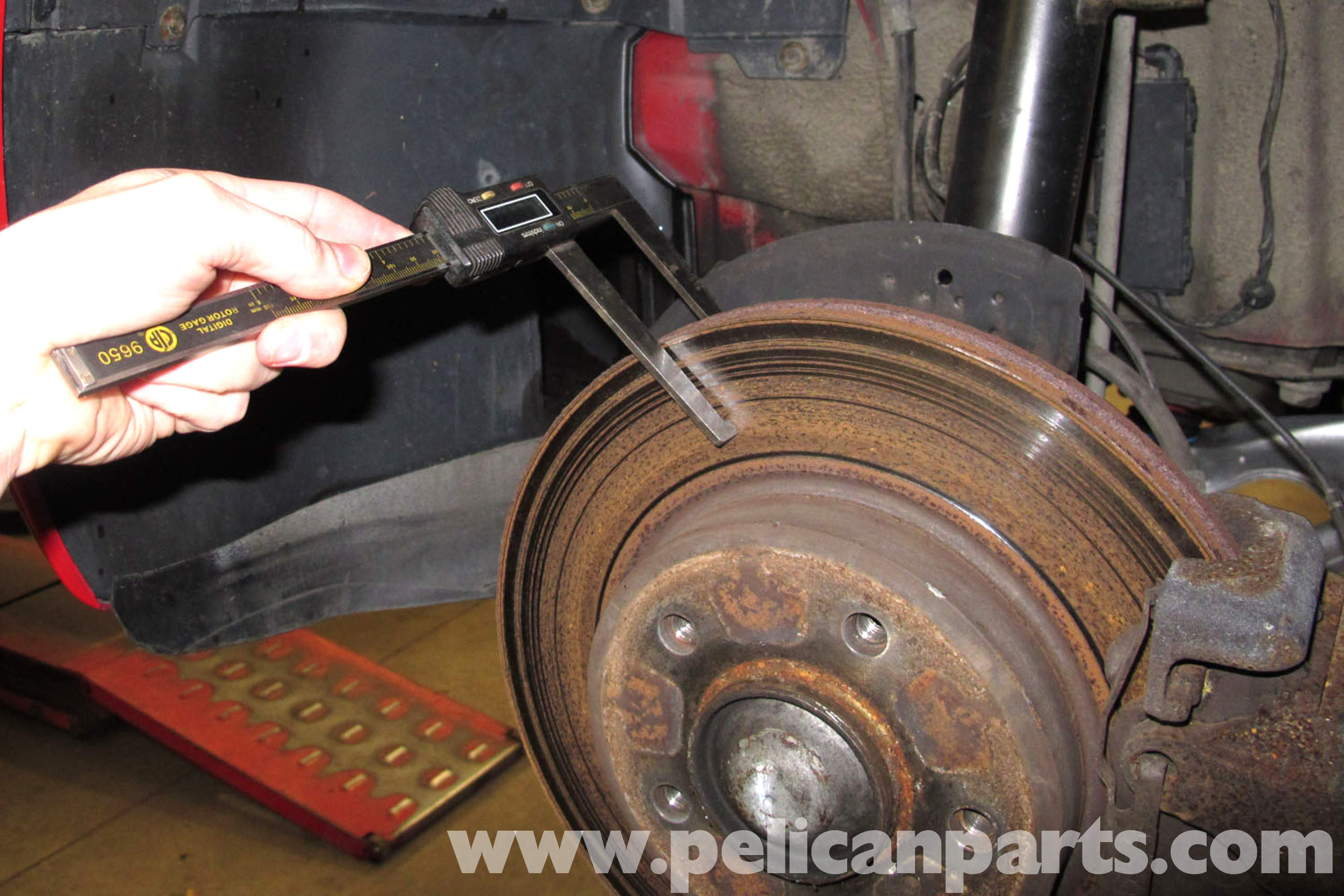 Bmw E46 Brake Rotor Specification Checking Bmw 325i