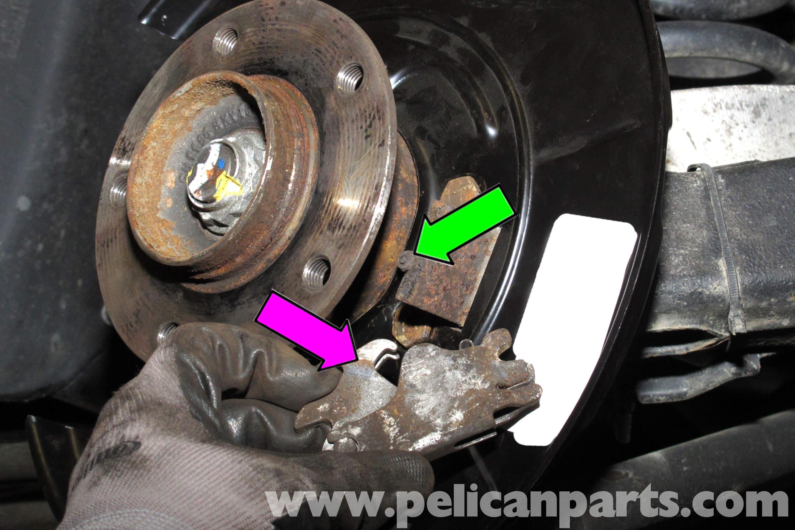 Bmw E Rear Brake Shoe Fitting