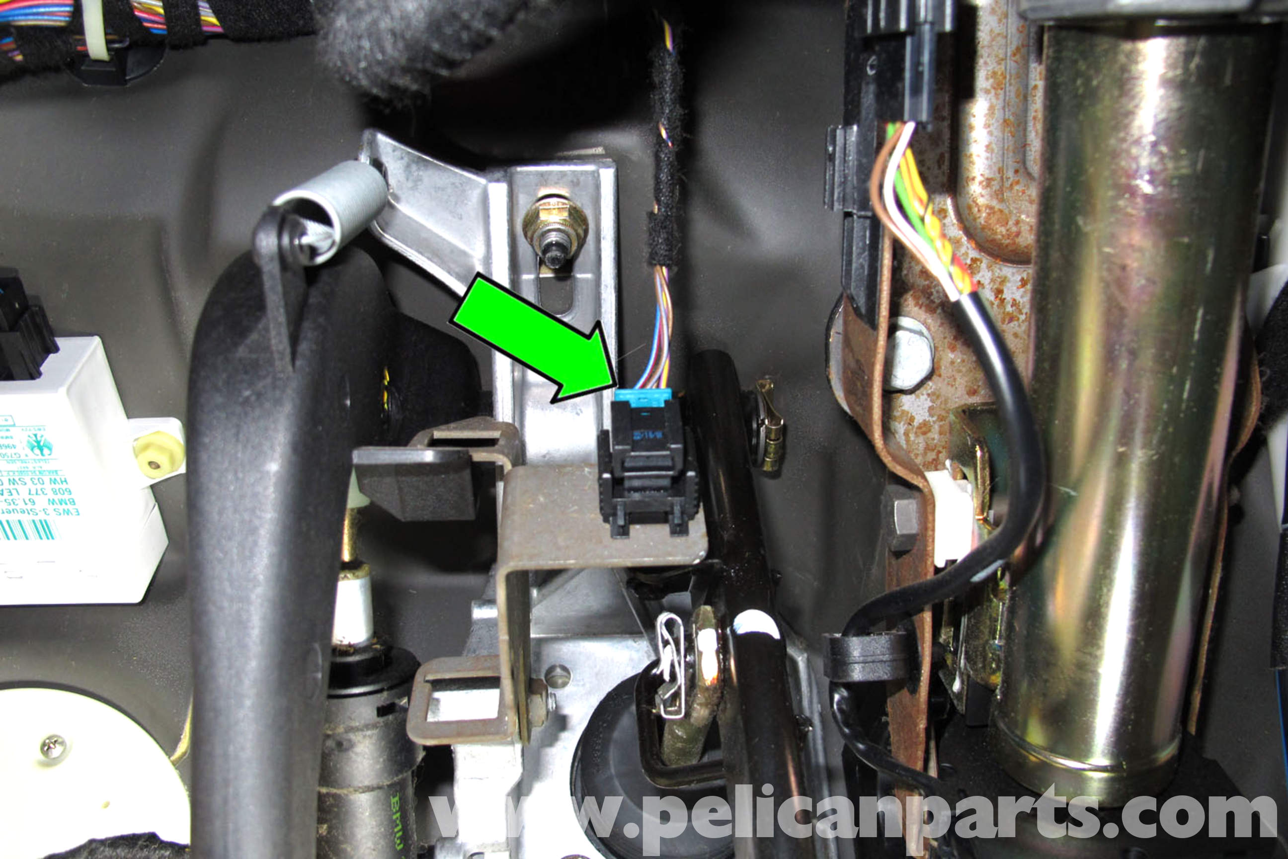 BMW E46 Brake Light Switch Replacement | BMW 325i (2001-2005), BMW ...
