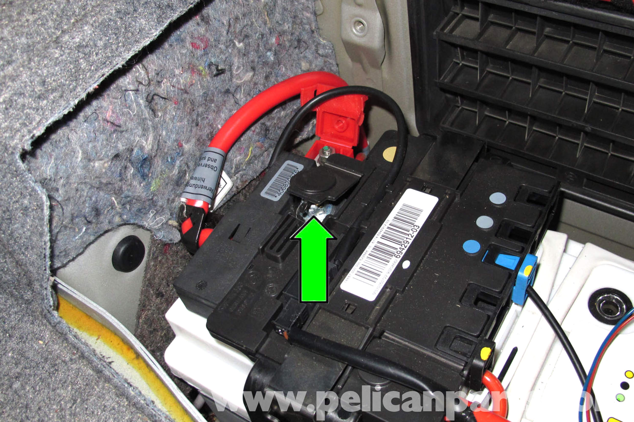 pic08 bmw e90 battery replacement e91, e92, e93 pelican parts diy  at aneh.co