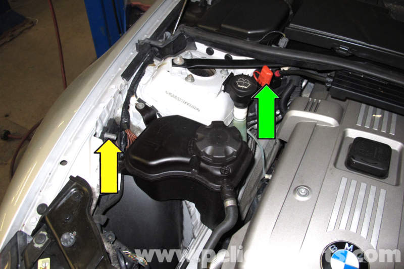Bmw E90 Battery Replacement E91 E92 E93 Pelican Parts Diy Rhpelicanparts: 2005 Bmw 325i Battery Location At Elf-jo.com