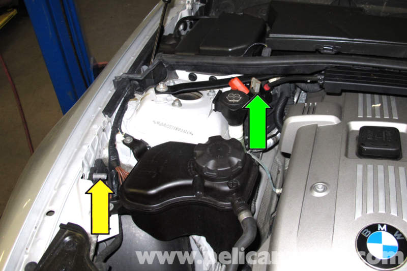 Bmw E90 Battery Replacement E91 E92 E93 Pelican Parts Diy Rhpelicanparts: 2004 Bmw 740il Battery Location Free Engine Image At Elf-jo.com