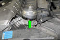 Using an oil filter socket on a 6