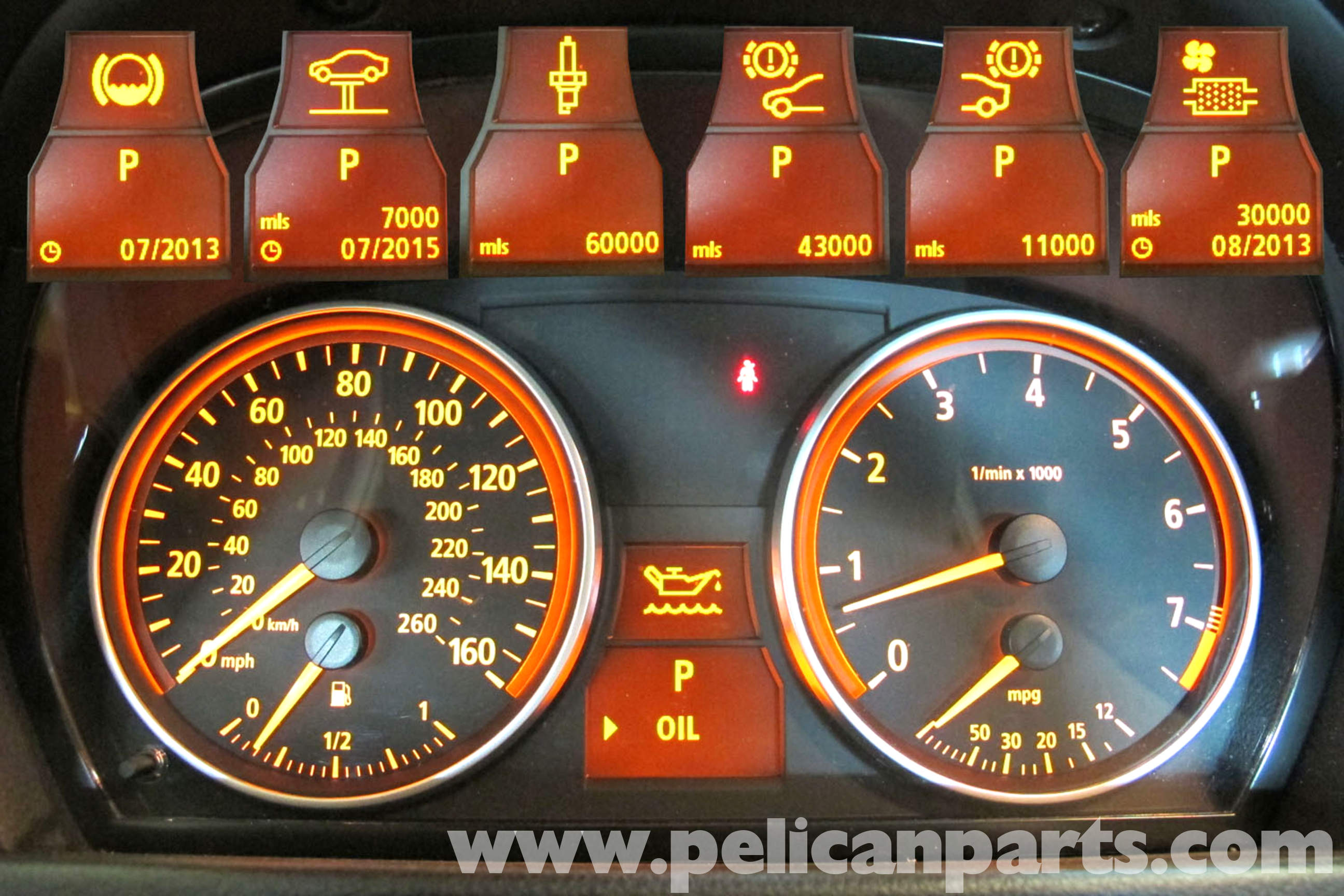Beautiful Bmw 3 Series E46 Dashboard Warning Lights Diagram