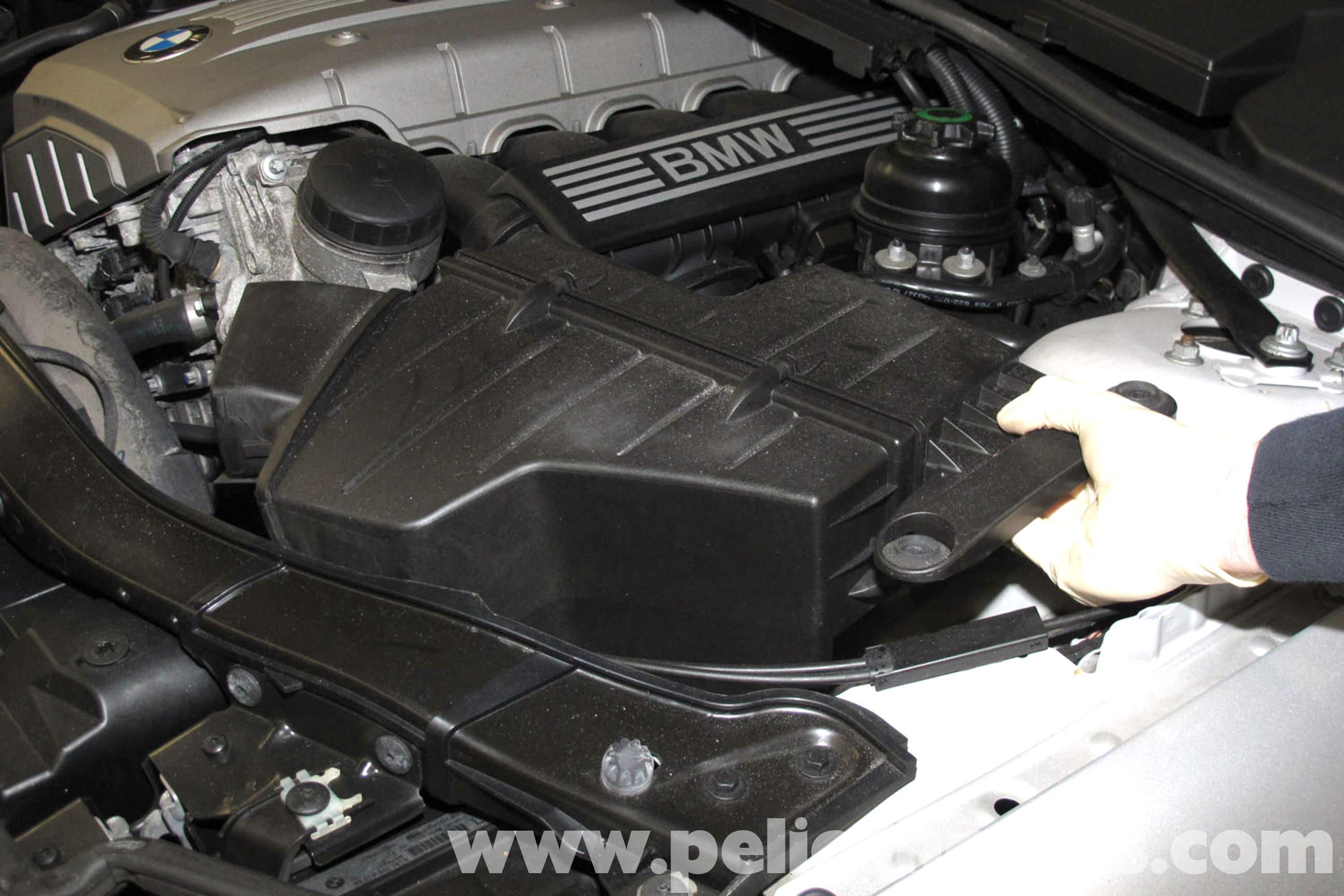 BMW E90 Air Filter Replacement | E91, E92, E93 | Pelican