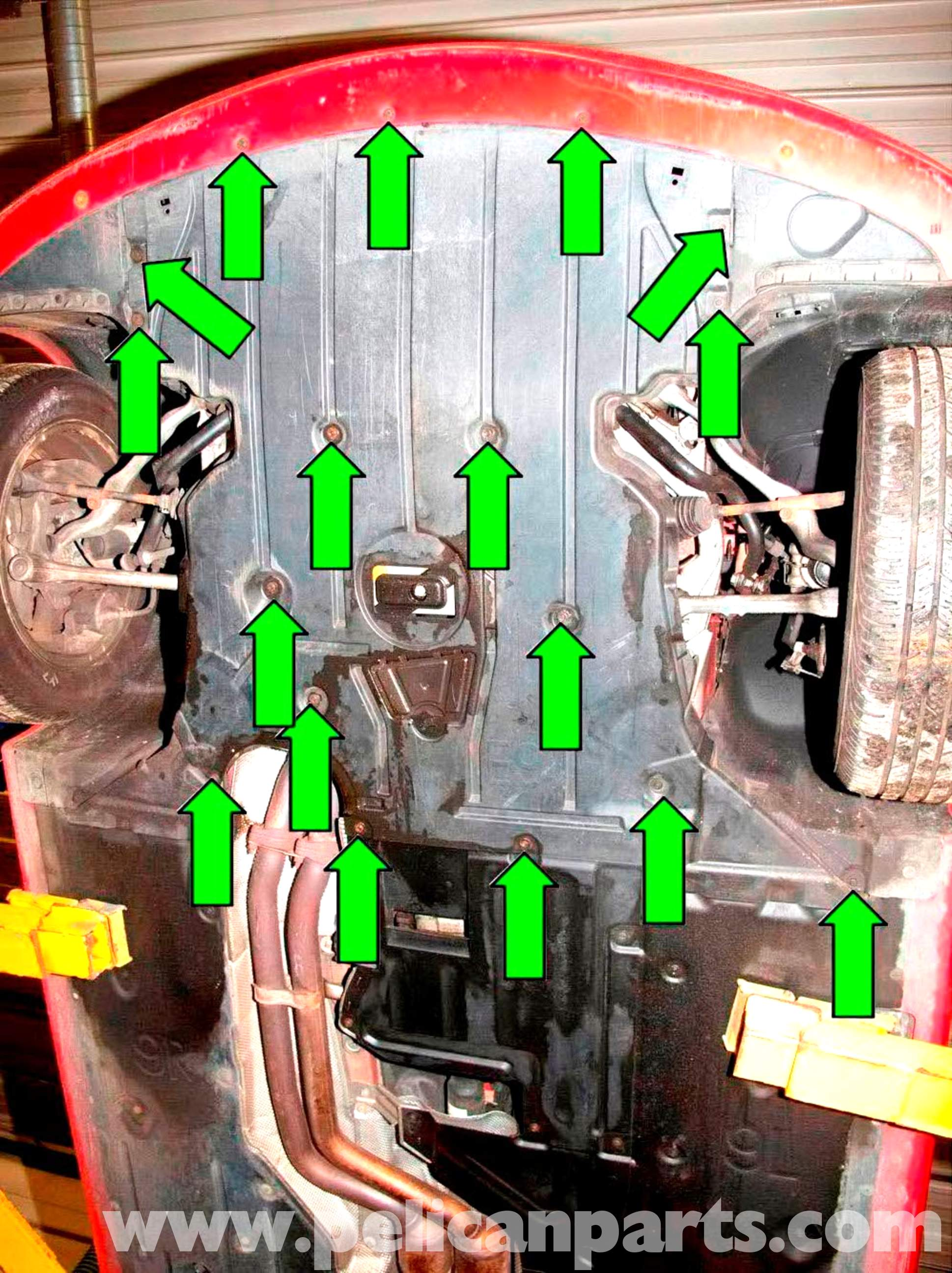 BMW E90 Engine and Transmission Splash Sheild Removal ...