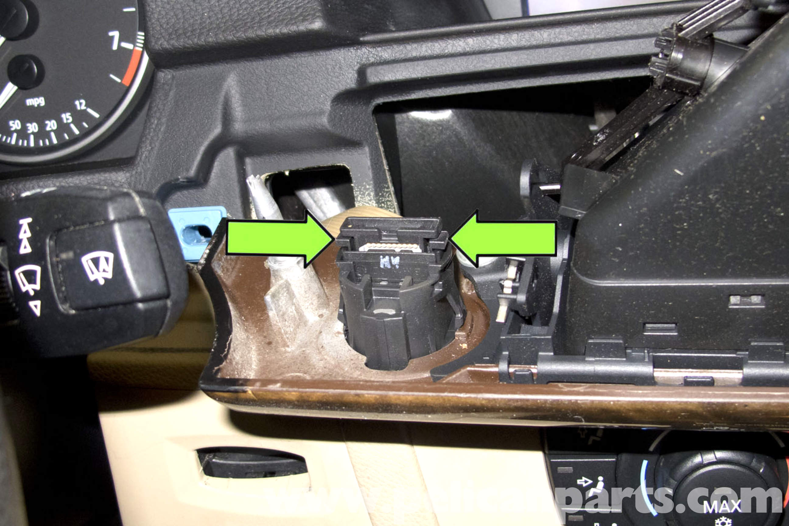 BMW E90 Dashboard Hazard Headlight Switch Replacement | E91, E92