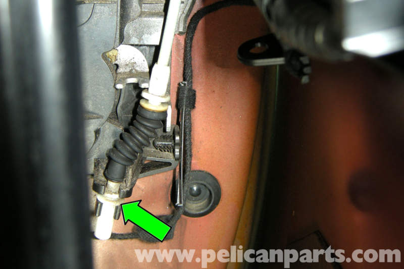 pic07 bmw e90 door latch replacement e91, e92, e93 pelican parts diy  at gsmportal.co