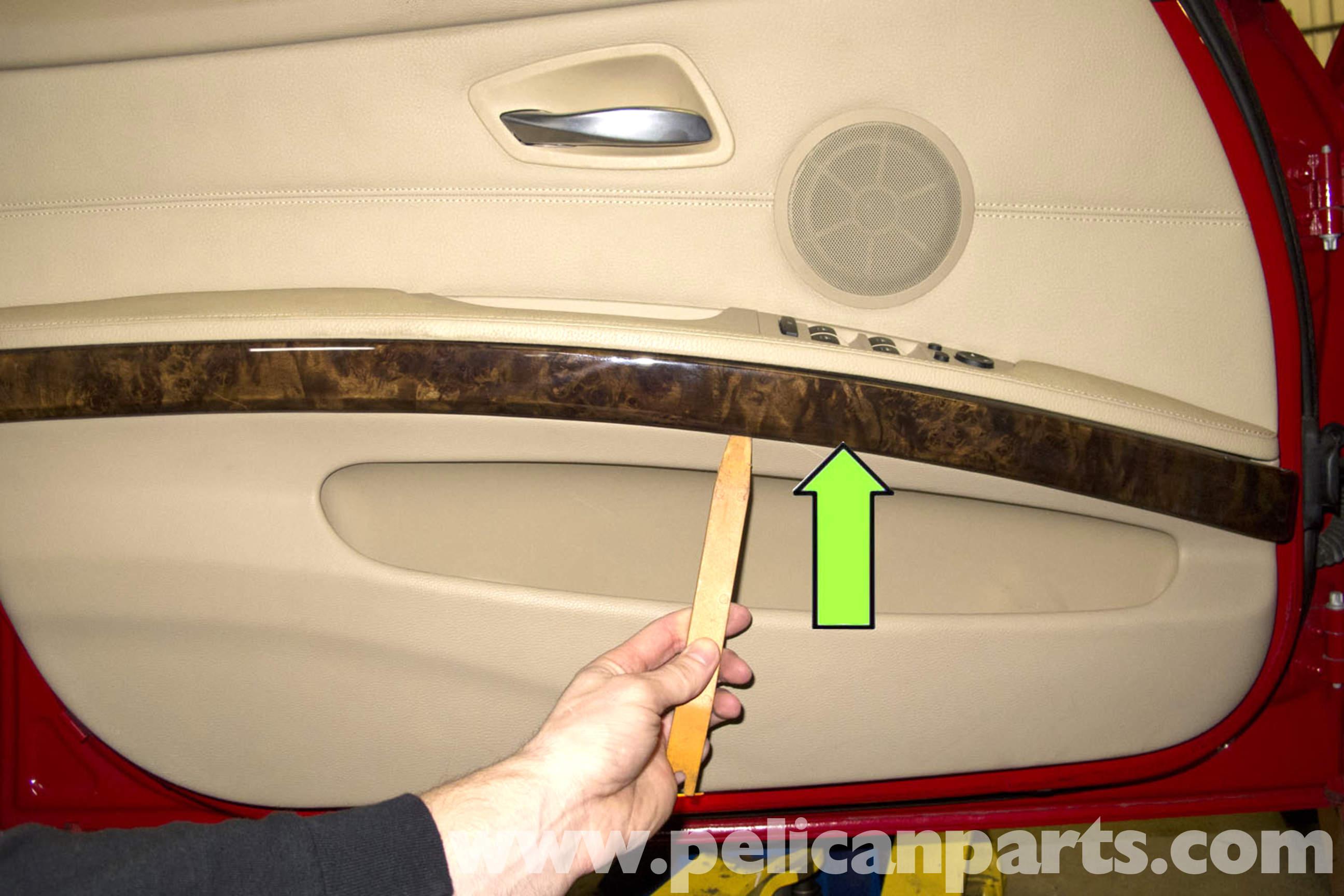 Bmw E90 Door Panel Removal E91 E92 E93 Pelican Parts Diy Maintenance Article