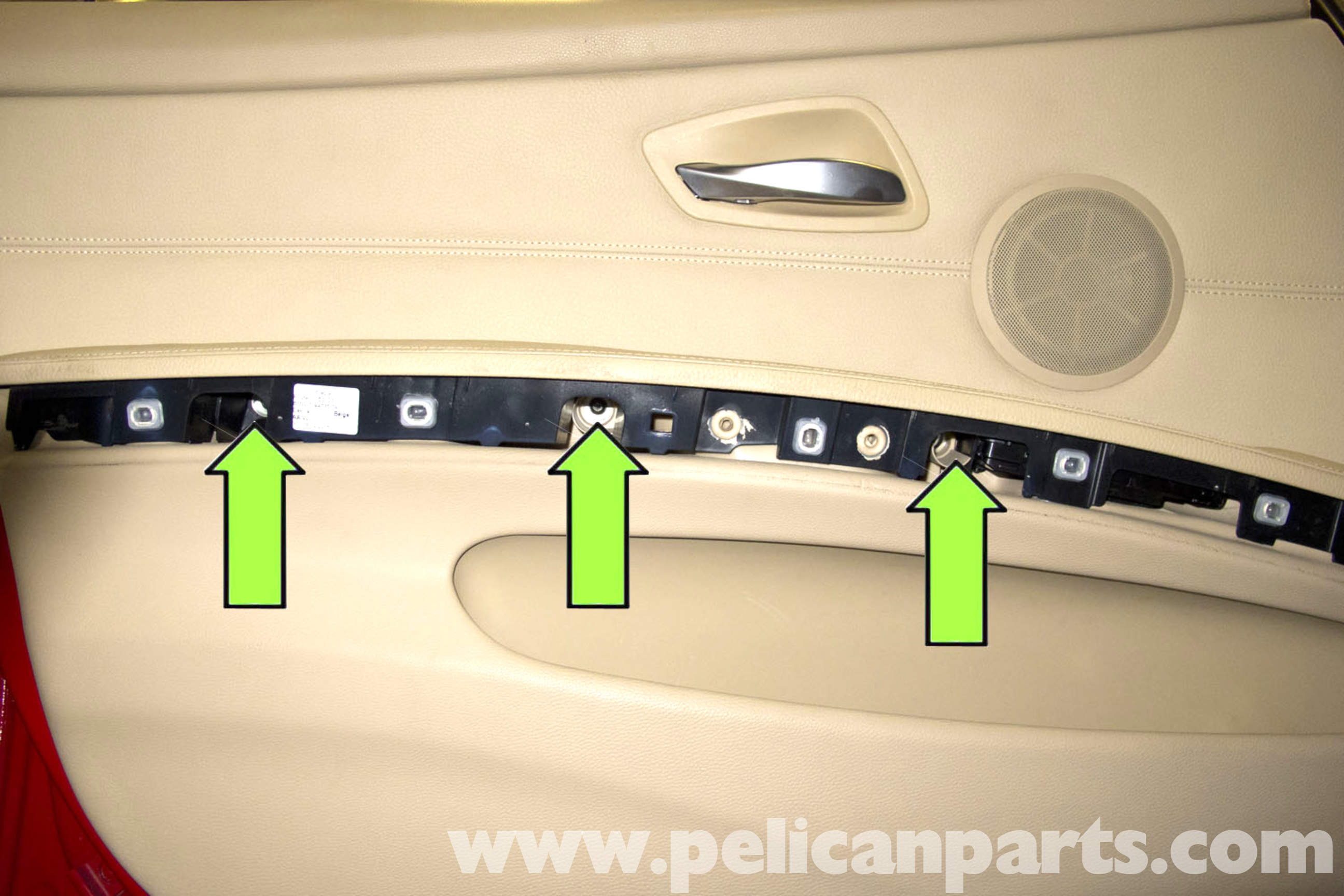 Bmw e90 door panel removal e91 e92 e93 pelican parts diy large image extra large image eventelaan Gallery