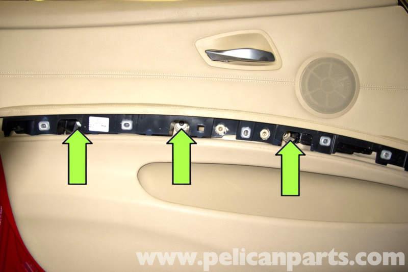 Bmw E90 Door Panel Removal E91 E92 E93 Pelican Parts
