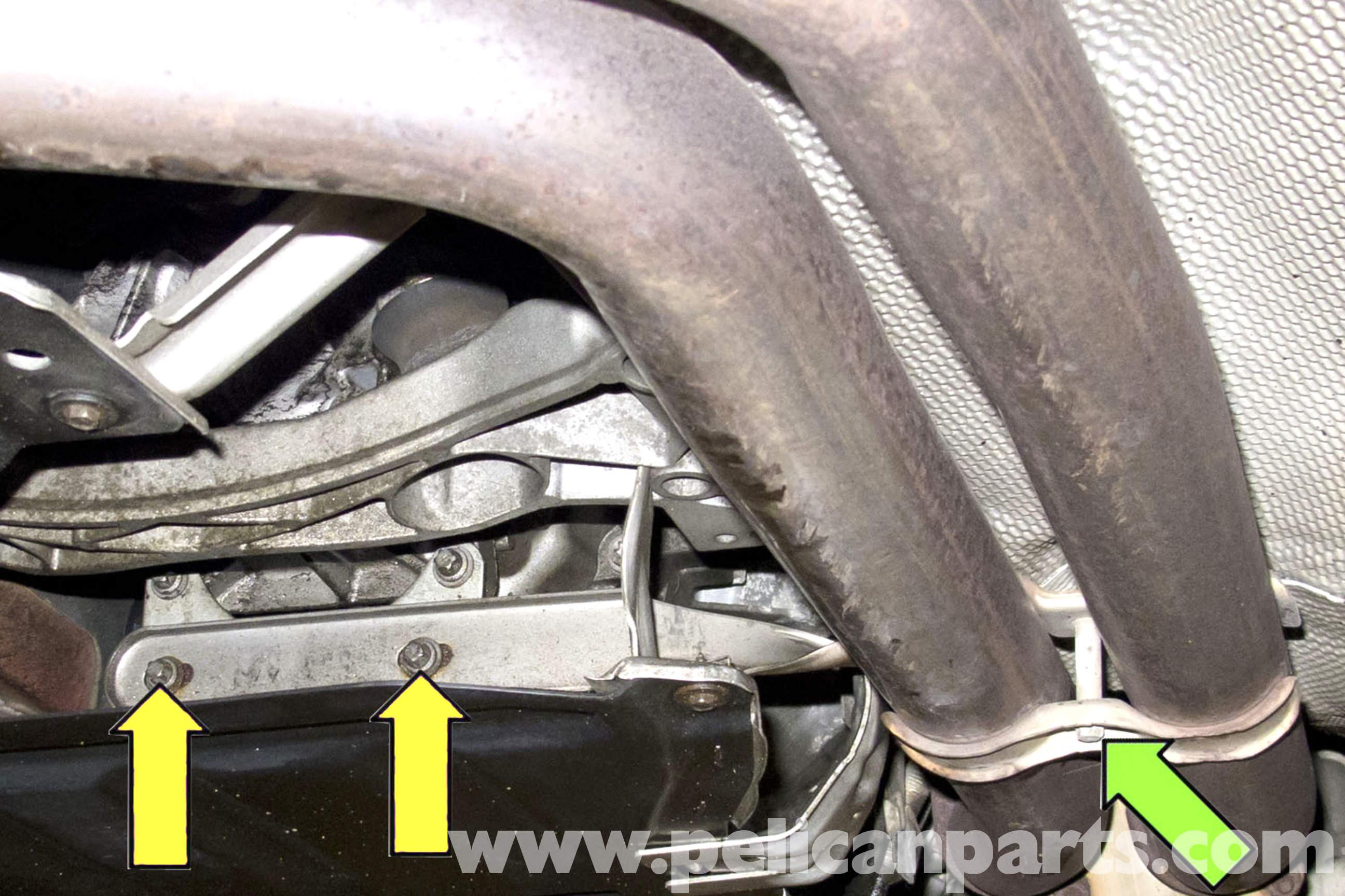 BMW 320i 323  Rear Silencer Box Band Hanger Bracket