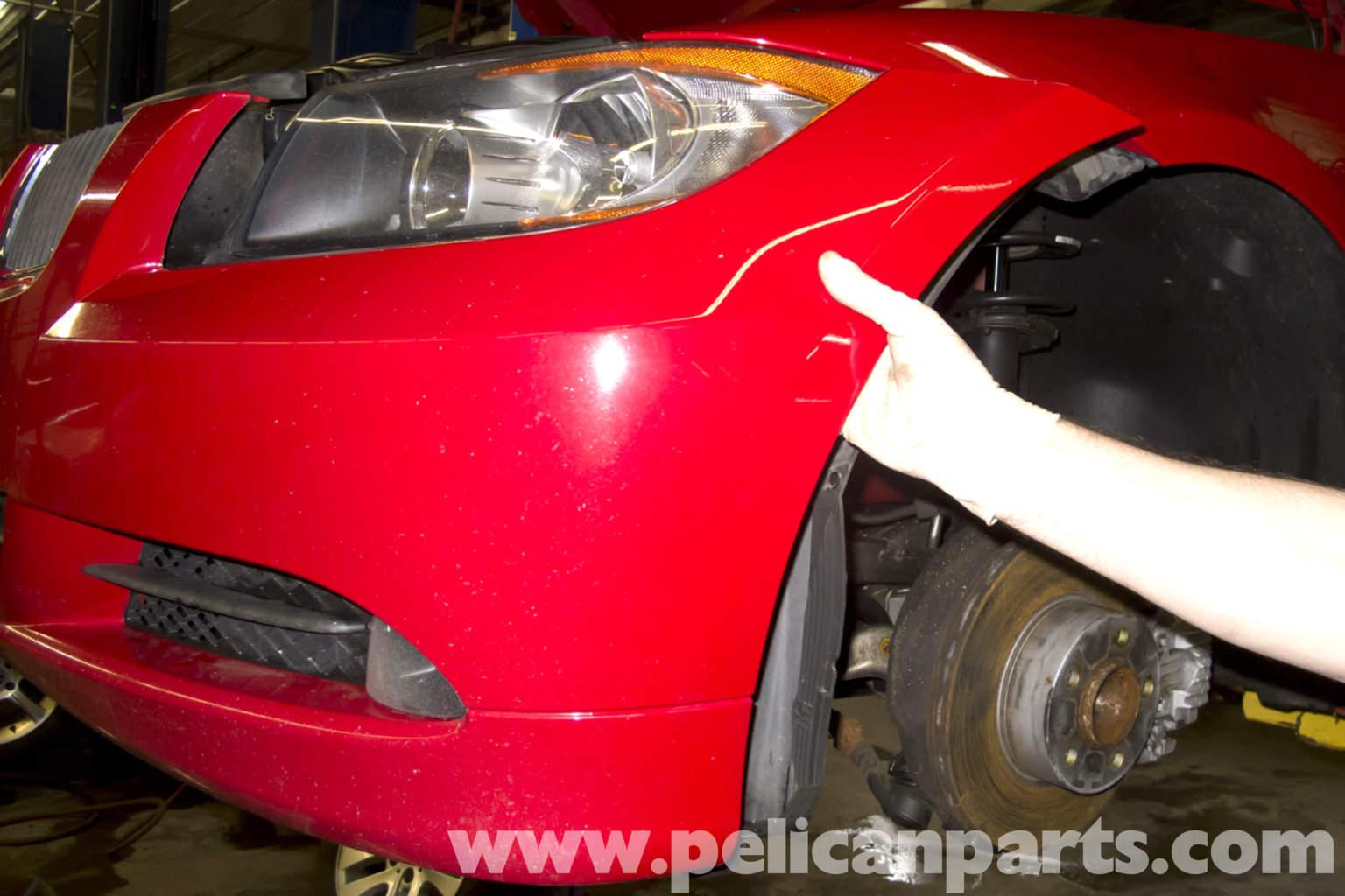 Bmw E90 Front Bumper Removal E91 E92 E93 Pelican