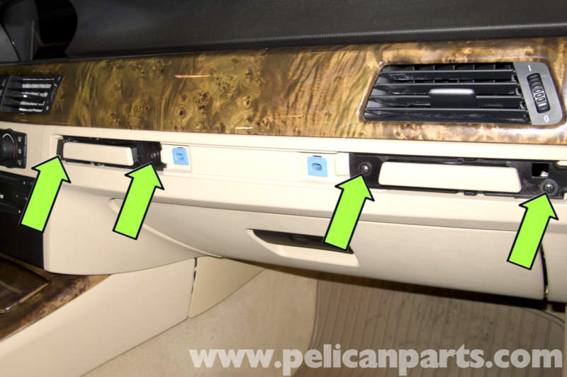 bmw e90 glove box replacement e91 e92 e93 pelican. Black Bedroom Furniture Sets. Home Design Ideas