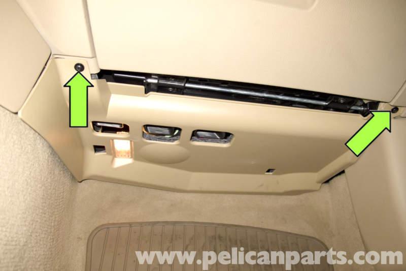 bmw e90 glove box replacement e91 e92 e93 pelican parts diy rhpelicanparts:  how to remove