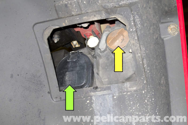 Wheel Well Liner >> BMW E90 Headlight Lens Removal and Replacement | E91, E92 ...
