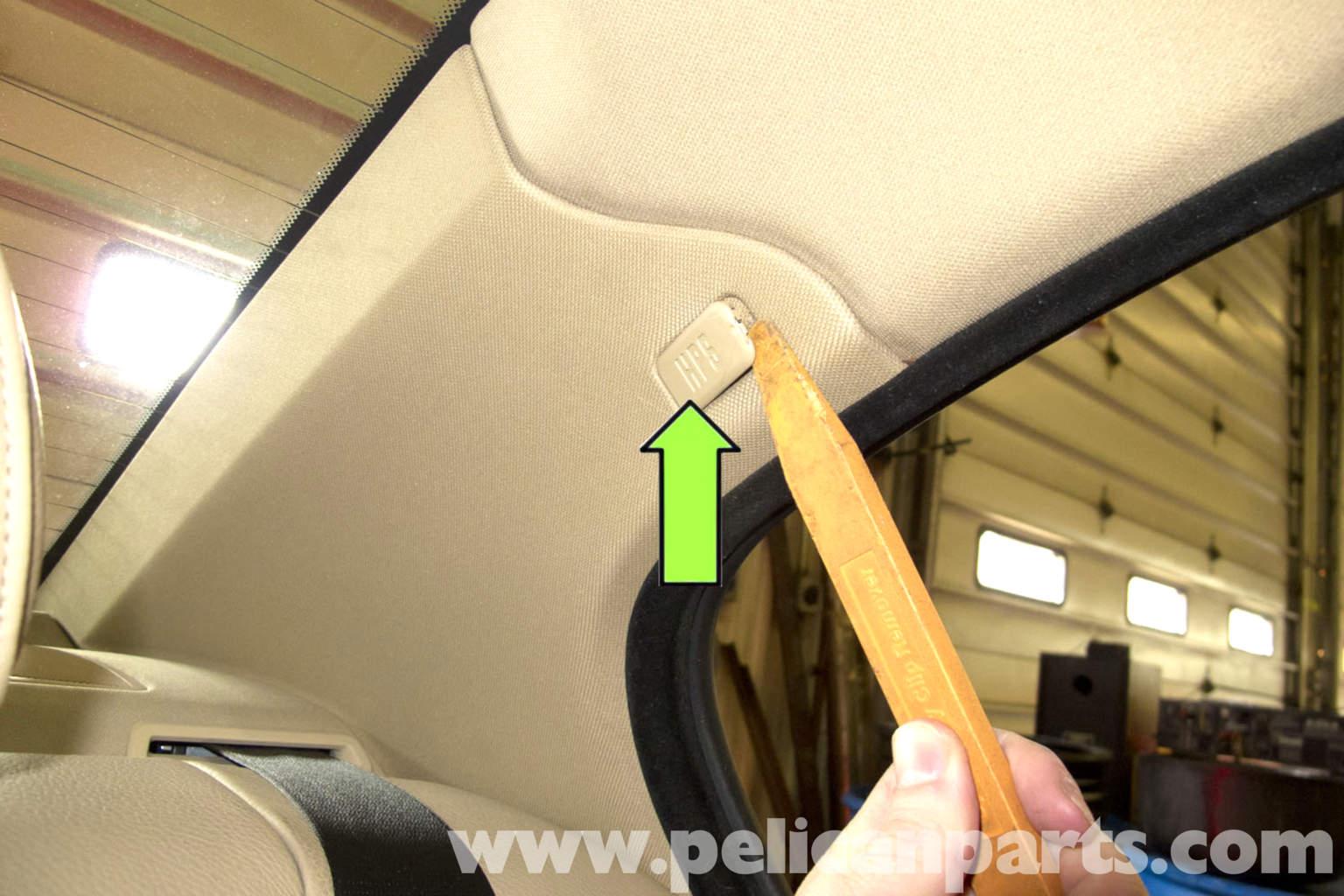 Bmw E90 Interior Pillar Panel Replacement E91 E92 E93 Pelican Parts Diy Maintenance Article