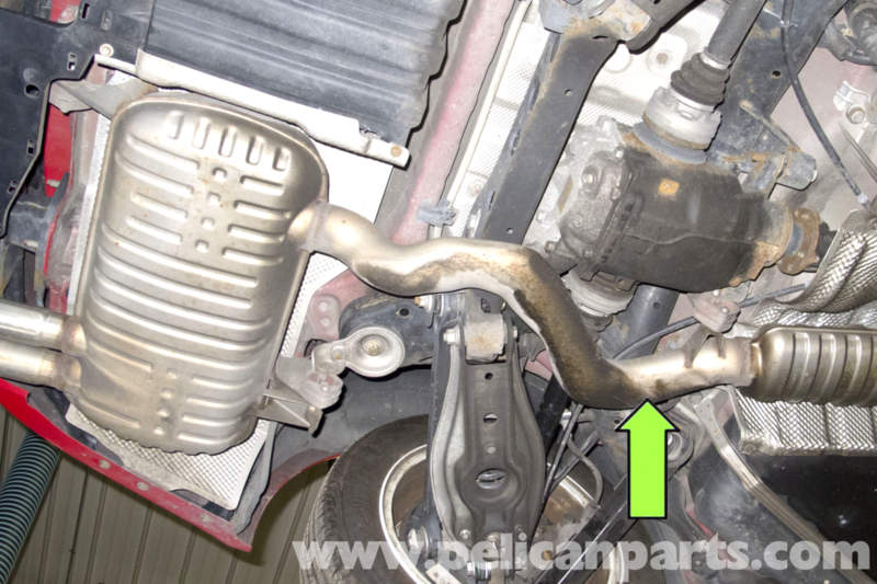 Bmw E90 Rear Muffler Replacement