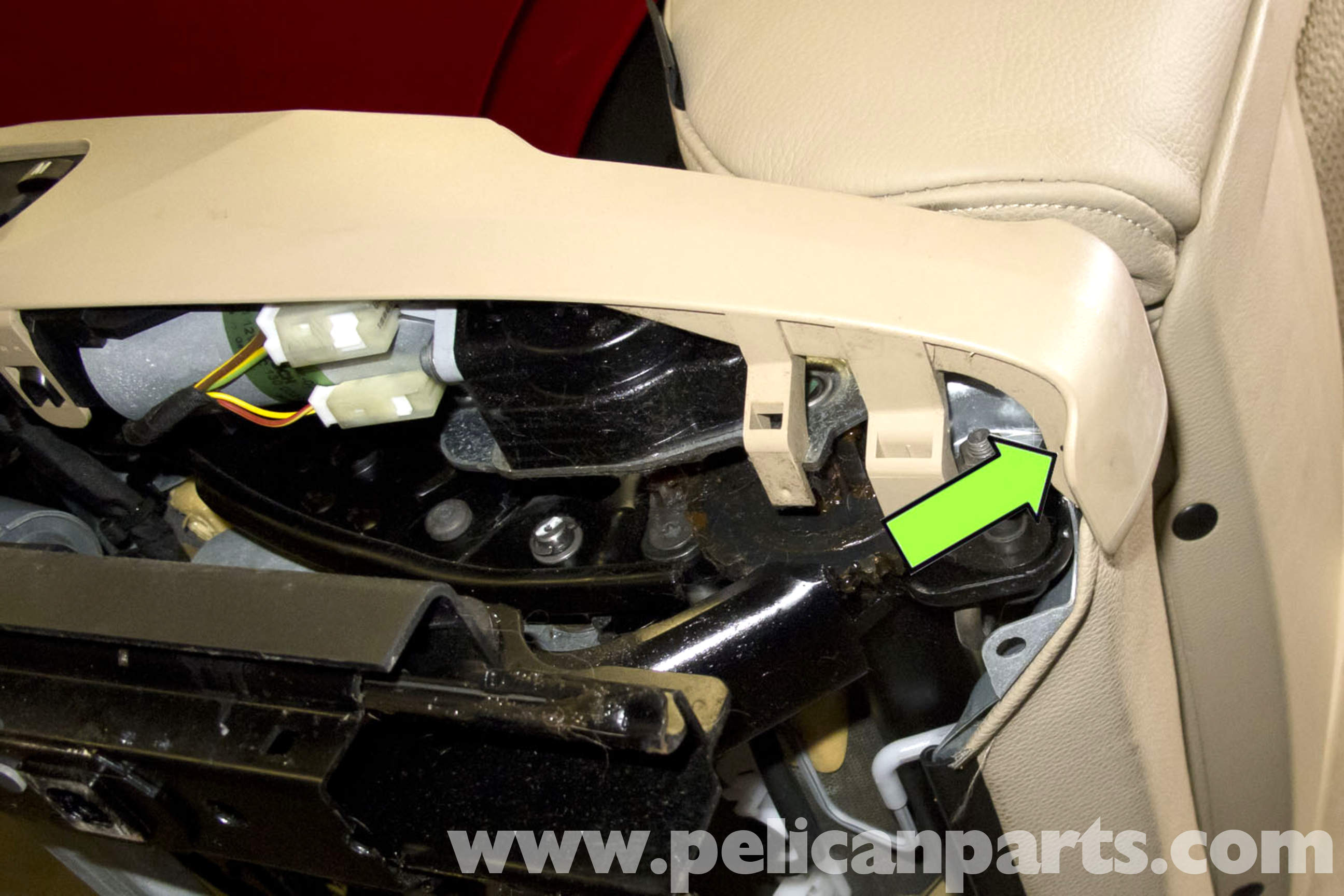 Bmw Seats Replacement : Bmw e seat switch replacement pelican