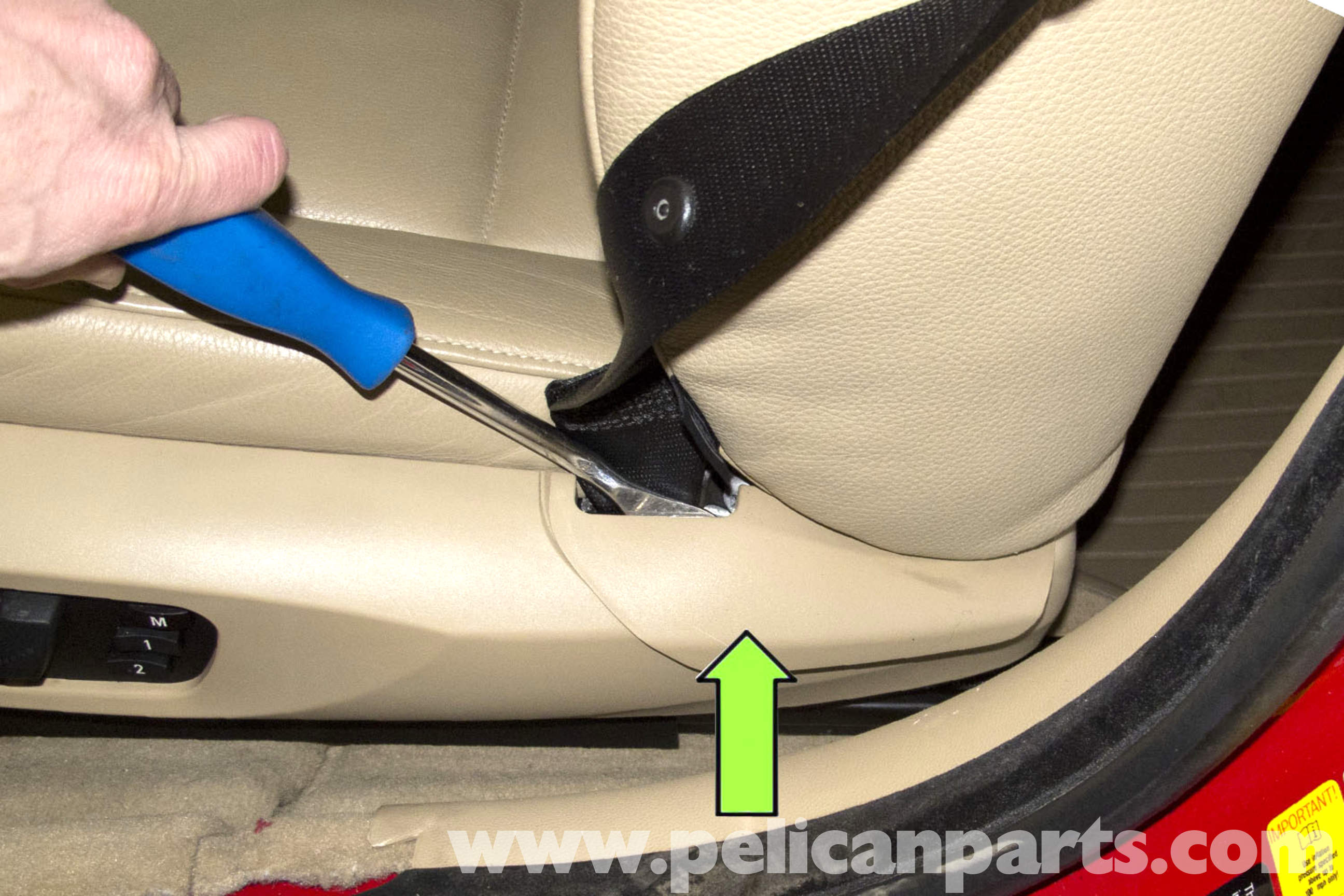 BMW E90 Seat Removal And Replacement